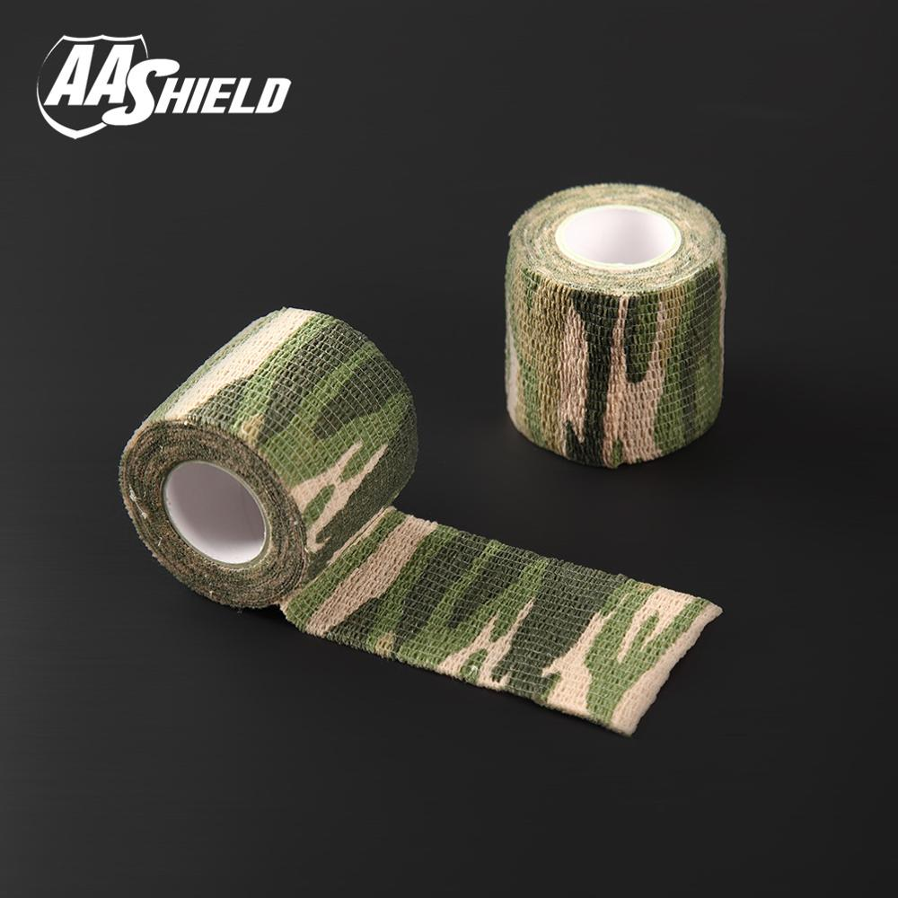 AA Shield Outdoor Camping bandage Camo Tape Military Rifle Covert Adhesive multicolor / Gun Jungle 3PCS Free Shipping aa shield outdoor camping bandage camo tape military rifle covert adhesive multicolor gun black