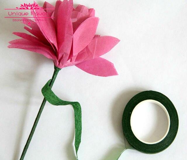 12 Stucke Selbstklebende Floristen Krepppapier Blumenstamm Wrap