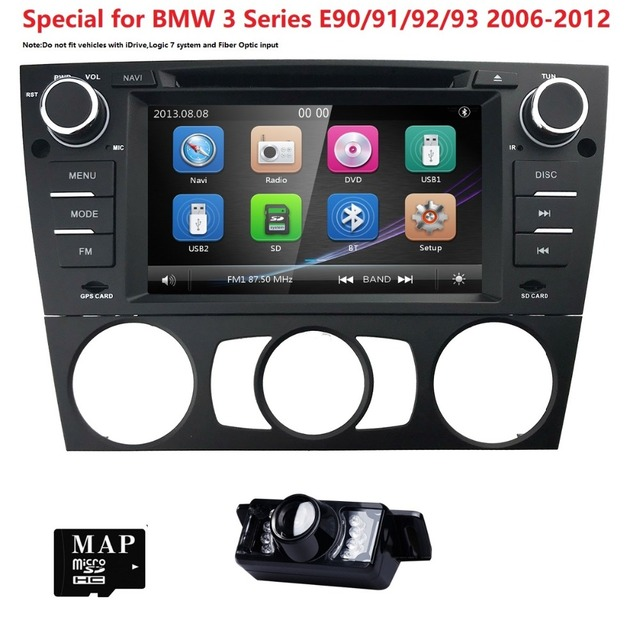 7 wince car monitor dvd multimedia for bmw e90 with gps 7 wince car monitor dvd multimedia for bmw e90 with gps navigation rds 3g subwoofer fandeluxe Gallery