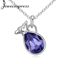 Jewecexpress Lucky bag Pendant Necklace