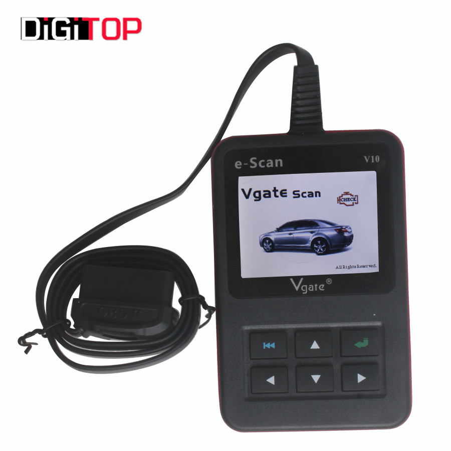 ФОТО New Arrival Vgate E-SCAN V10 Petrol Car and Light Truck Scan Tool