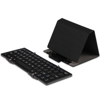 Free Shipping Ultra Thin Mini General Folding Bluetooth Keyboard Win8 Keypad Millet For Ipad Iphone Note