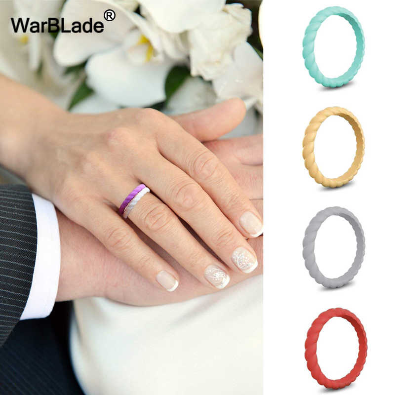 Detail Feedback Questions About 3mm Thin Braided Silicone Ring For