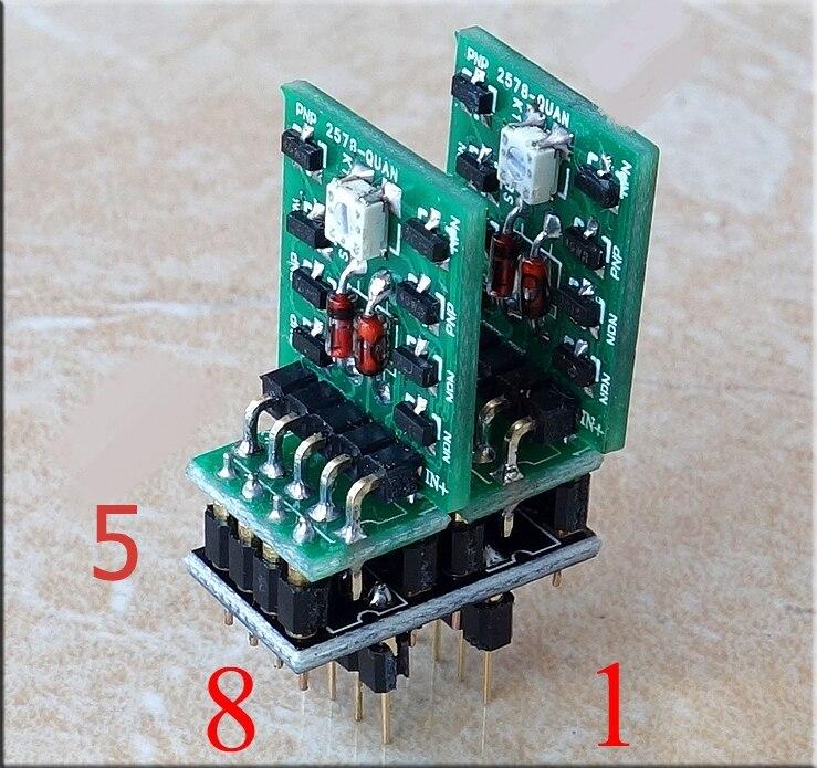 WEILIANG аудио двойная разница полностью симметричный полностью вспомогательный дискретный элемент двойной op amp