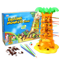 1 BOX Desktop Games Falling Tumbling Monkeys Toys Board Game Monkeys Parent Child Interactive Educational Toys