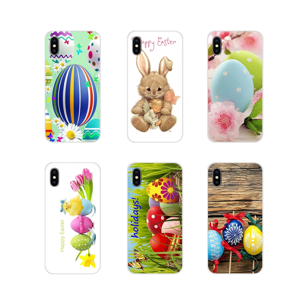 For <font><b>Xiaomi</b></font> <font><b>Redmi</b></font> 4A S2 Note 3 3S 4 4X 5 Plus <font><b>6</b></font> 7 6A Pro Pocophone F1 Accessories Phone Cases Covers Hot Happy Easter Bunn <font><b>Rabbit</b></font> image