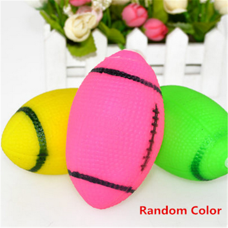 Rubber Rugby Pet Dog Toy Chew Ball Tooth Resistant Giochi Per Hond Labrador Hot Toys For Big Dogs Funny Products Pet Shop DDMXX8