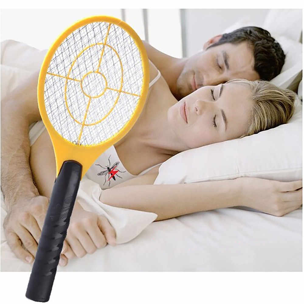 Raquete Assassino Do Mosquito Bat Tênis Handheld Elétrica Insect Fly Bug Swatter Vespa 7.31