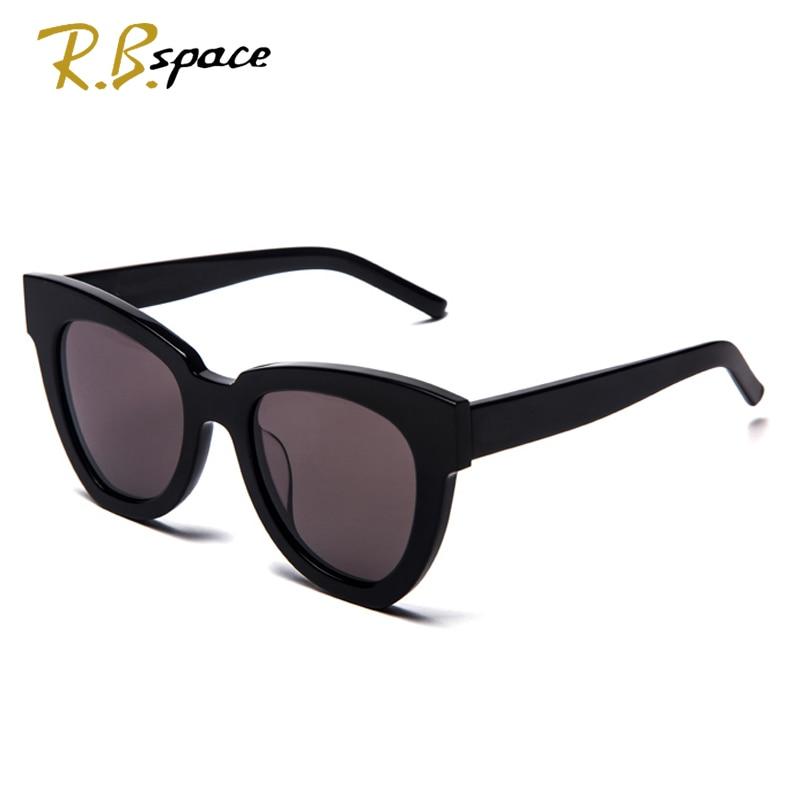 font b fashion b font big frame sunglasses Plate lady retro brand designer cat eye