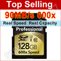 Brand  16gb 32GB SDHC 64GB 128GB SDXC SD Card 600x 90mb/s Flash SD Memory Card Class 10 UHS-I For Digital Camera Card