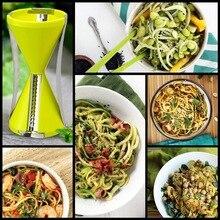 Hot sale Vegetable Fruit Spiral Slicer Spirelli Graters Carrots Spiralizer Julienne vegetable Vegetable cutter kitchen gadget
