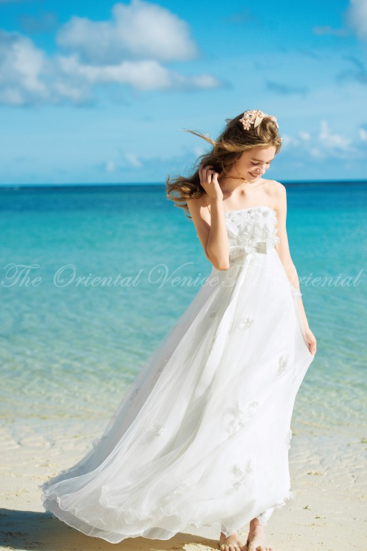 Maternity Beach Wedding Dress - home decor - Mrsilva.us