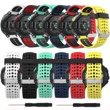 Pulseira de troca para garmin forerunner 235, bracelete para smartwatch baaletc para garmin forerunner 230/ 235/235lite/220/620/630/735xt