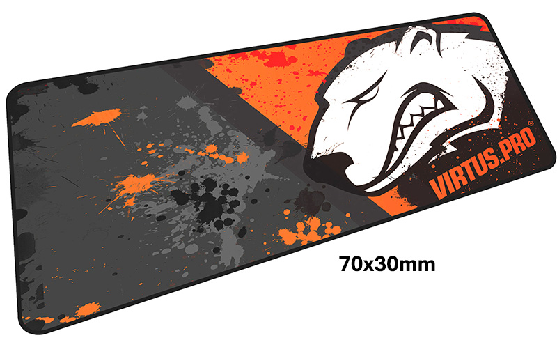 virtus pro pad mouse computador gamer mause pad 700x300X4MM padmouse big Gorgeous mousepad ergonomic gadget office desk mats ...