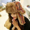 2017 Winter Warm Trapper Hat Earflap Earmuffs Caps Winter Women Aviator Hat Thicken Skiing cap Ear Protection Bomber Hat