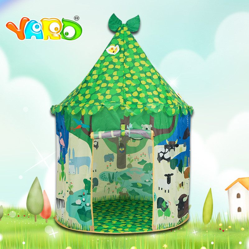 YARS Children's tent Indian tent teepees for children Kids Tents child Play YARD Indoor Outdoor Games toy tent for kids teepee image