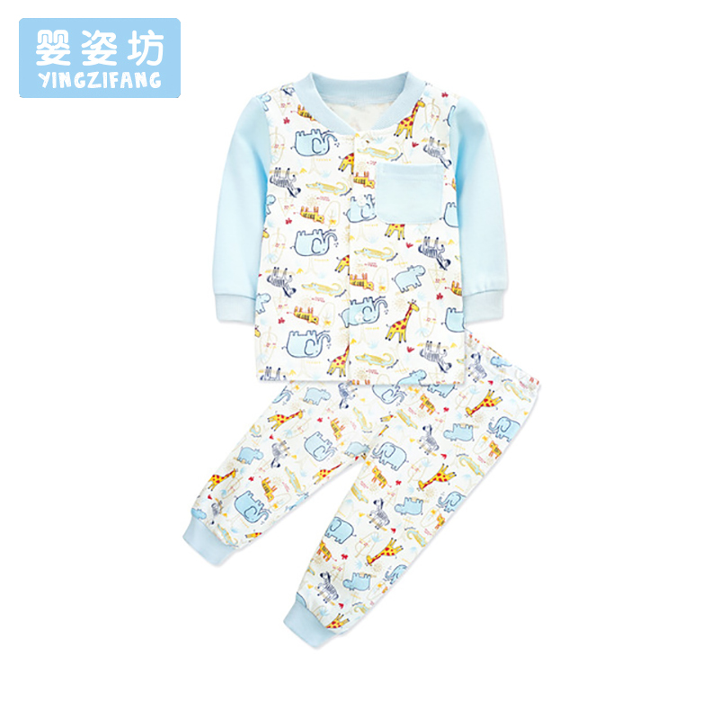 2018 Sale Baby Clothes Set Lovely Printing Long Sleeve Newborn Costume Suit T-shirt + Pa ...