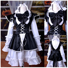 Helloween disfraces para adulto mujeres lolita dress renacimiento medieval dress siervo maid cosplay anime ropa