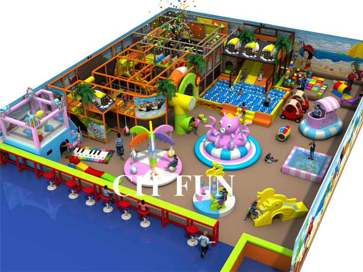 Ihram Kids For Sale Dubai: CE Certified Kids Indoor Playground CIT IN198A-in