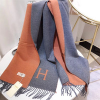 Women Scarf Winter Autumn Woman Scarves Wrap Shawl Thick Women's Scarf Warm Cashmere Wool Metal Blended Knit Brushed Poncho