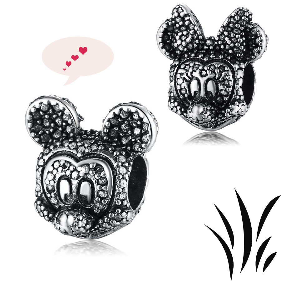 Aliexpress Com Buy Mickey Minnie Beads Fit European Amp Usa
