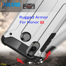 Drop resistance Rugged Armor Case For Huawei Honor 8X Hybrid Shield anti hit Cover