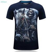 T Shirt Boys Summer 2017 Men T Shirts Fashion O Neck Short Sleeve Cotton 3D Iron