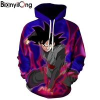 BIANYILONG Classic Anime Dragon Ball Z Sweatshirt Harajuku Style Men Women Long Sleeve Anime 3D Print