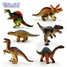Simulation Dinosaur Tyrannosaurus Rex Triceratops animal model figures home decor decoration accessories Figurine Kids Gift toys jurassic dinosaur simulation pvc model action figure toys apatosaurus giganotosaurus tyrannosaurus rex carnotaurus triceratops