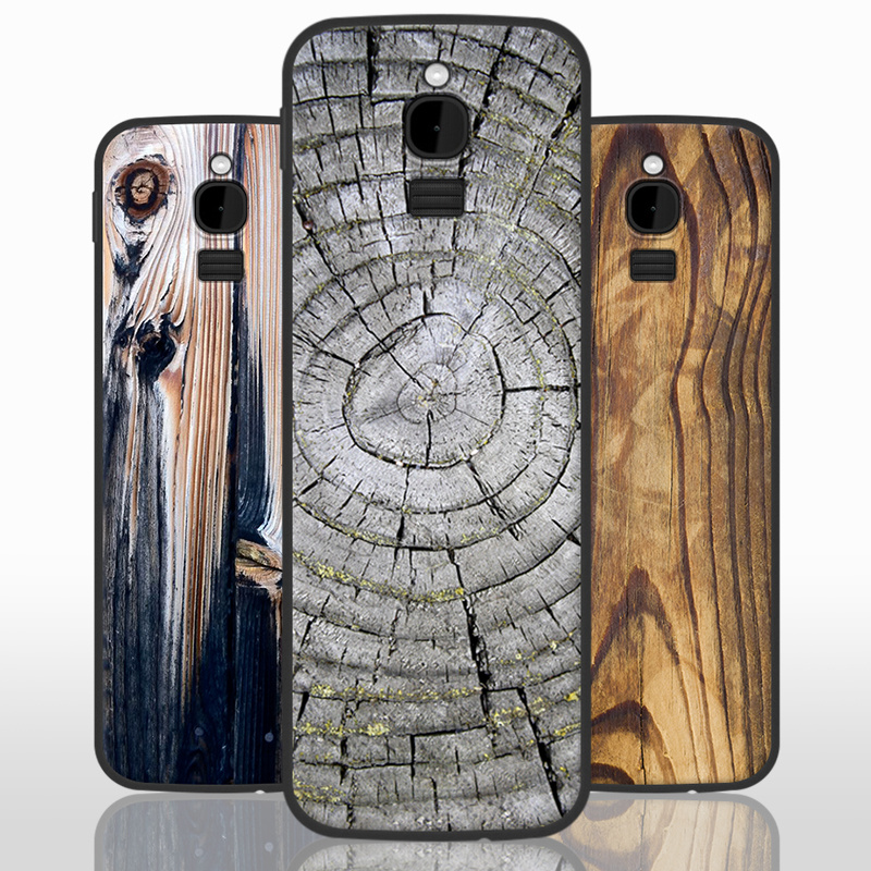 on sale 989c6 c3953 US $7.99 20% OFF|For Nokia 8110 4G Case Cover Silicone Soft TPU for Nokia  8110 4G Wood Stone Patterned Phone Case 2.4