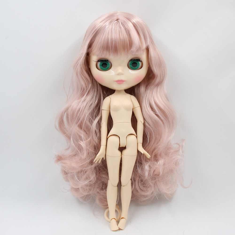 Фабрика blyth кукла 1/6 bjd шарнир тела белая кожа 30 см 280BL1329/7263 розовый цвет смесь блонд кукла без одежды