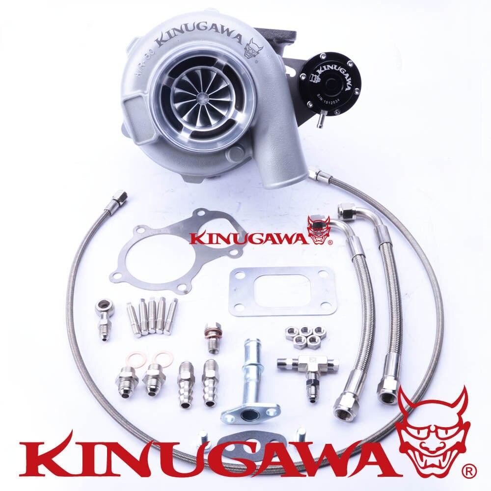 Kinugawa Ball Bearing Turbocharger 4 Anti Surge GTX3071R AR 63 T3 5 Bolt for Ford Falcon