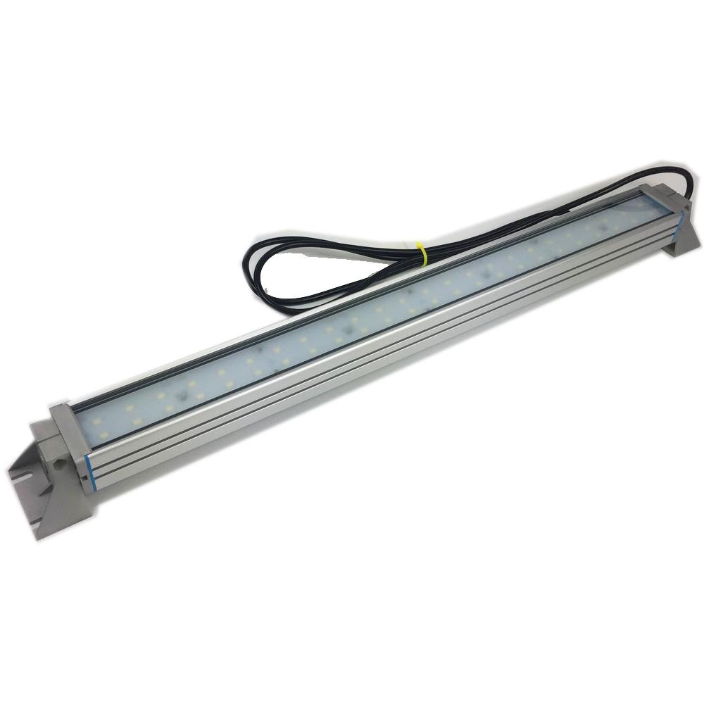 High Quality Aluminum 9 14 19 24 29 LED Machine Bar Lamp Adjustable 350 Light angle IP66 Fixing by Screw