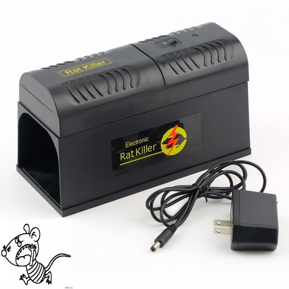 Elettrico Del Mouse Trappola per Topi Mouse Killer Elettronico Roditore Topo Zapper Electrocute Mana Kiore Uso Domestico