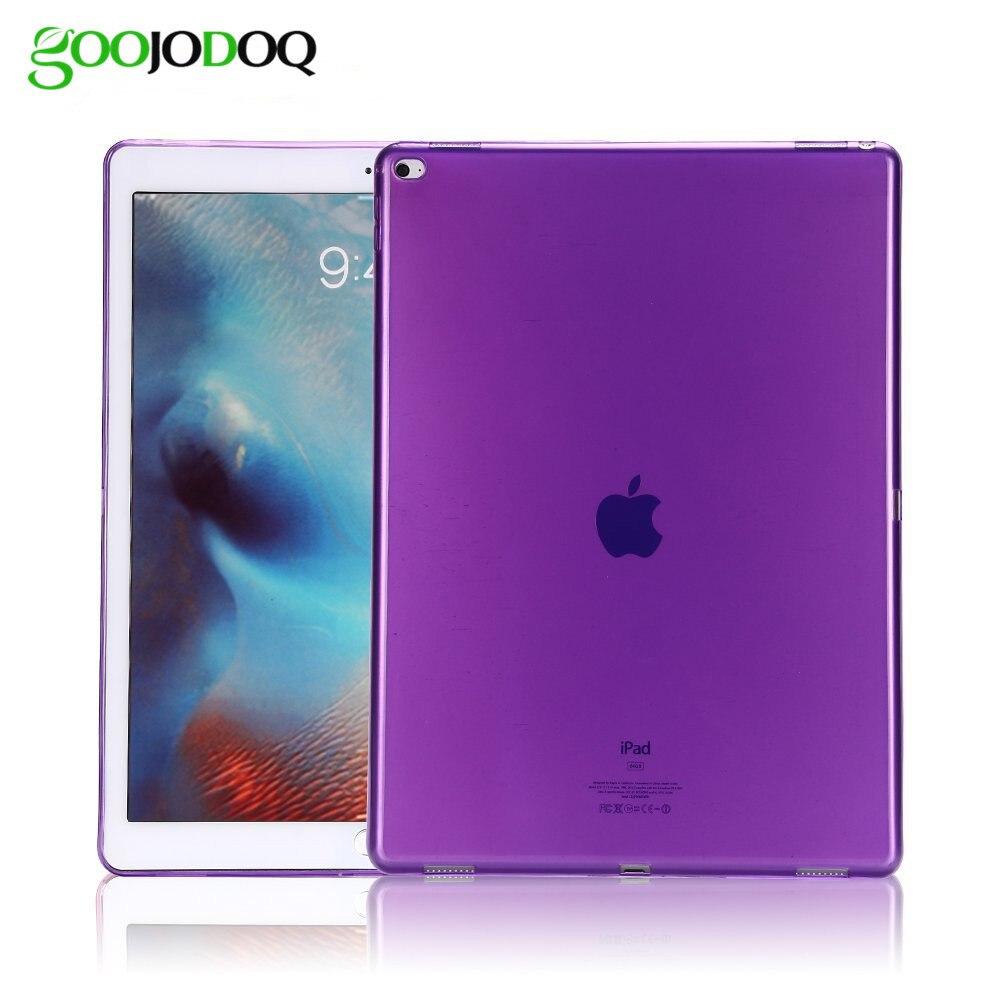 Case For iPad Mini 1 2 3 4 Retina Soft Silicone Back Cover Ultra-thin Clear Gel Rubber Skin Protector Shell for Ipad Mini 4