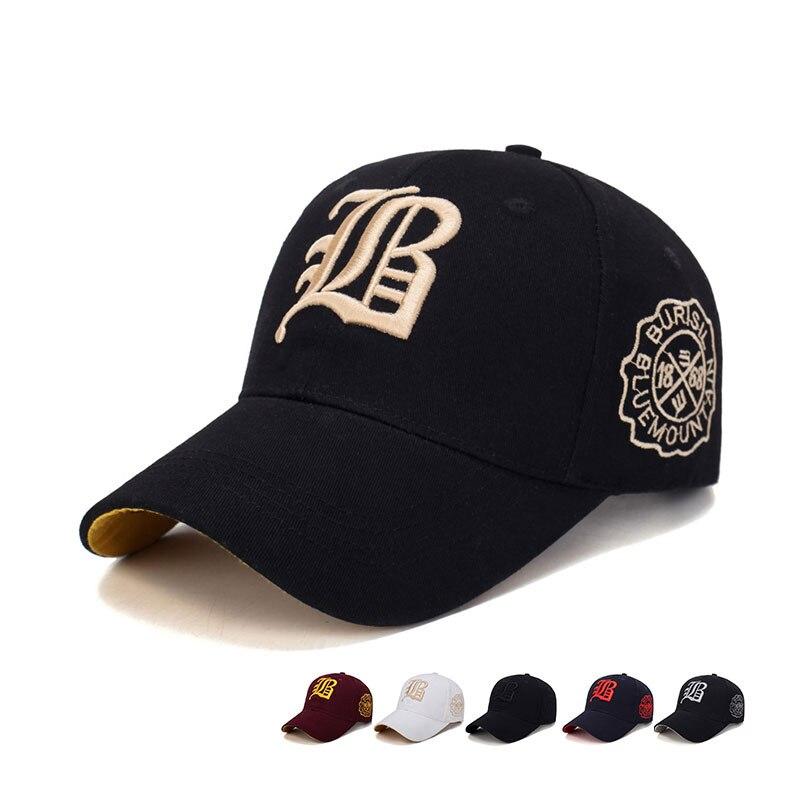 Casual Embroidery Men's Cotton Baseball Cap Fashion Comfortable Breathable Outdoor Sunshade Sun Hat