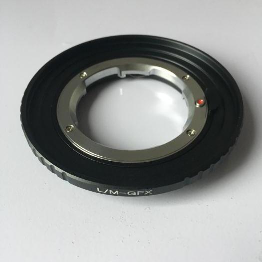 LM-GFX Adapter for Leica M Mount Lens to Fujifilm GFX Medium Format Camera fd gfx adapter for canon fd mount lens to fujifilm gfx 50s medium format camera