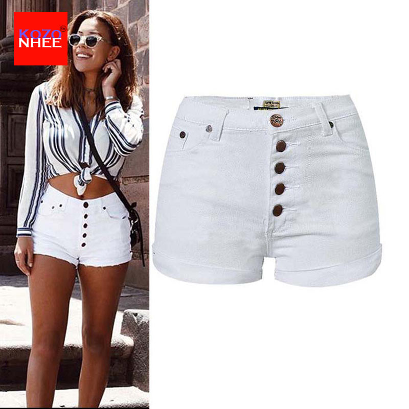 tight white high waisted shorts
