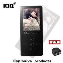 Iqq X55 8 ГБ MP3 плеера с fm Радио/голос Регистраторы без потерь звук металла и 1.8 дюймов touch цвет Экран расширить до 128 ГБ