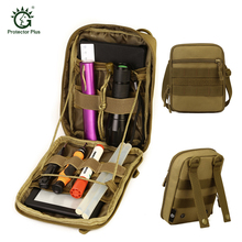 Tactical Utility Molle EDC Pouch Outdoor Hunting Tool Organizer Hiking Camping Sport 1000D CORDURA Nylon Accessories Bag