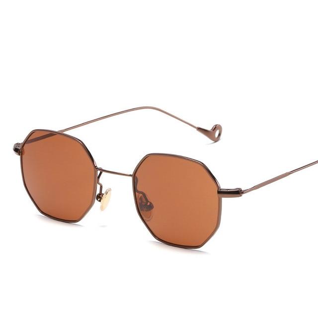 72e6042bdbf Nsunglasses women small frame polygon 2017 brand design vintage sun glasses  for men retro oculos Colors