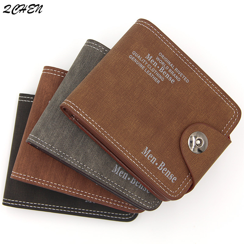 Men 39 s wallet Fashion 2019 Mens Wallet with Coin Bag Zipper Small Money Purses New Design Dollar Slim Purse Money Clip Wallet 506 in Wallets from Luggage amp Bags