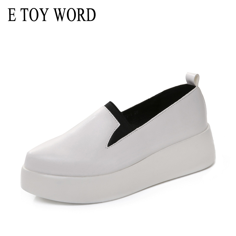 E TOY WORD Korean version pointed Loafers shoes casual shoes women increased flat shoes a pedal lazy sneaker women shoes 2015 summer shallow mouth of canvas shoes women shoes a pedal lazy shoes casual flat white shoes korean wave shoes