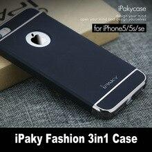 Оригинальный iPaky для Apple IPhone 5S случае 3in1 покрытие матовая Корпус задняя крышка для iPhone SE 5 телефон случаях