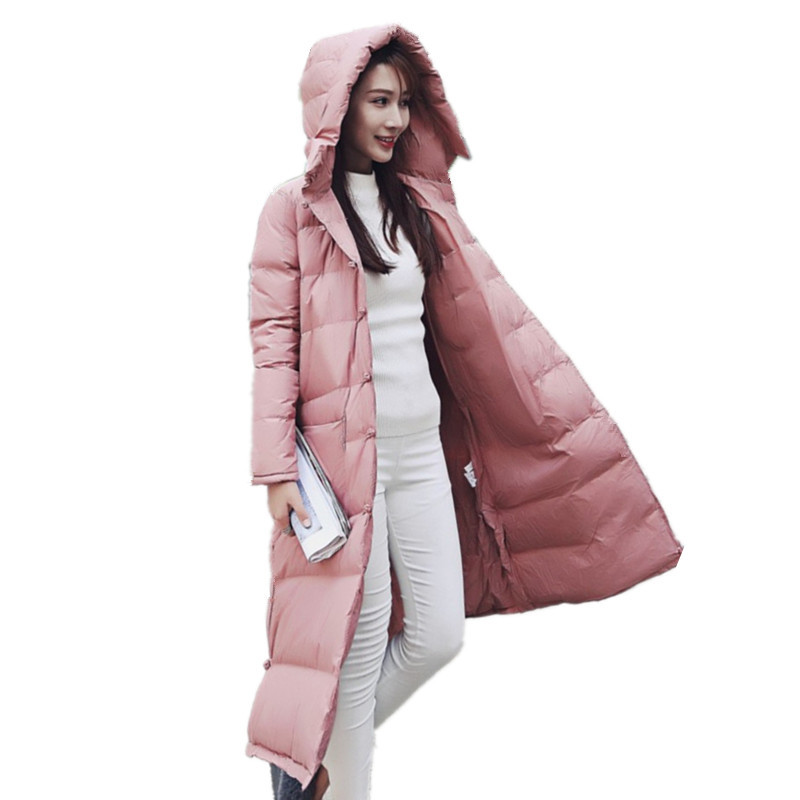 Vintage Single-breasted Loose Hooded Cloak Down Cotton Womens Winter Jackets Large Size Parka Jacket Women Manteau Femme TT3399 large size loose autumn winter cotton padded parka jacket women single breasted new female overcoat solid women jacket tt3231