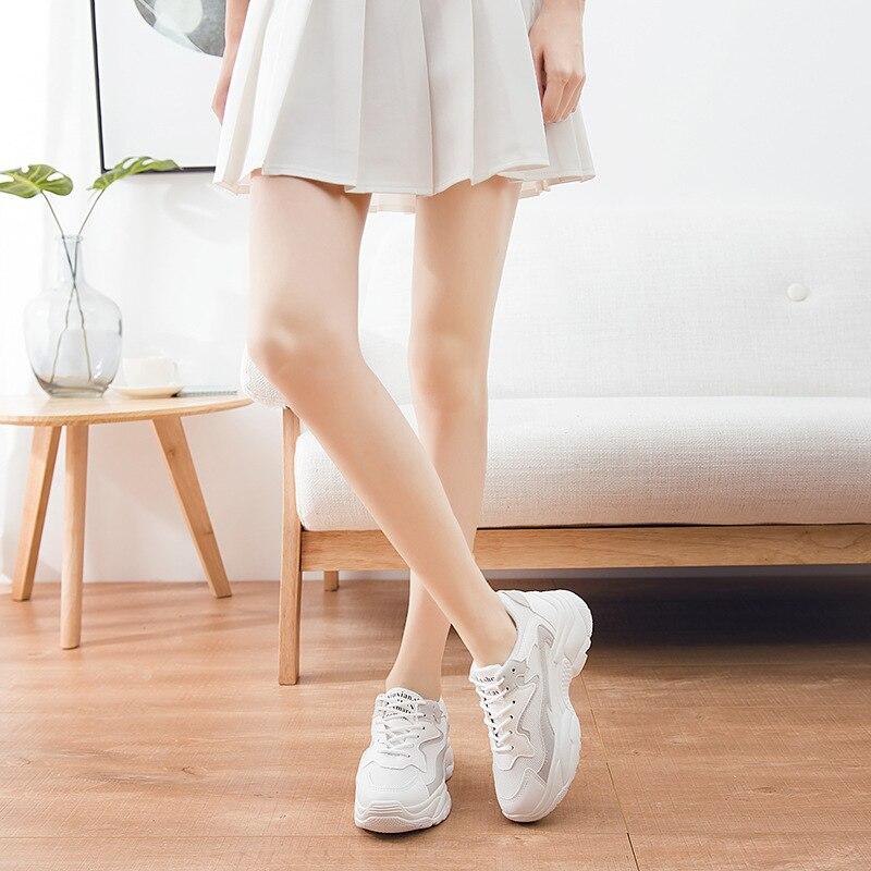 Bleu Nouvelles Baskets De blanc rose pourpre Confortables Marche Chaussures Casual gris Vulcaniser Femmes c8wUxEAq11