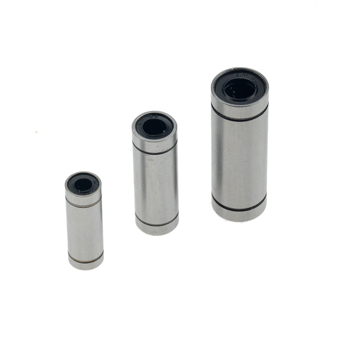 2Pcs LM6UU LM8UU LM10UU lengthen type Linear Ball Bearing for 3D Printer parts.