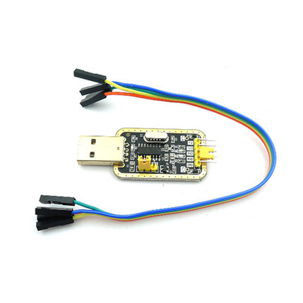цена на 3.3V 5V USB to TTL Converter CH340G UART Serial Adapter Module Golden