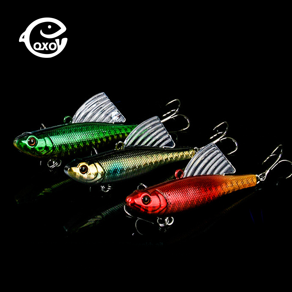 QXO 7cm 18g Fishing Lure Crankbait Squid Octopus HardMinnow Jig Metal Lure VIB Bait Winter Ice Goods For Fishing Wobbler Bait