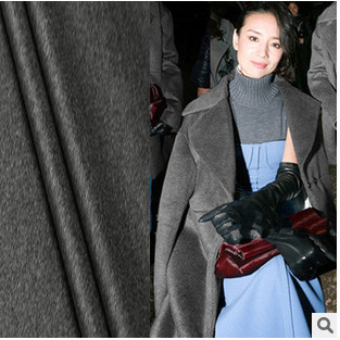 Factory direct sales in Italy cashmere fabric cashmere coat fabric wool fabric wholesale cashmere cloth